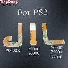 Pcs Para PS2 30/Playstation 2 Lente Do Laser 70000X30000 Lente Do Laser Cabo de Fita Plana Flex Flexível Conexão 9000X90000 9 XXXX 3000