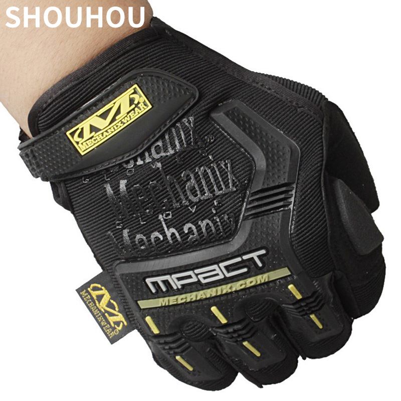 SHOUHOU Male Half-finger Casual Gloves Men Sports mechanix Gloves Army Safty Military Gloves Fitness Lifting Gloves Mittens