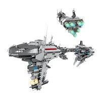 1736pcs Diy The Nebulon B Medical Frigate Models Block Compatible With Legoingly Star Wars Brick Toys