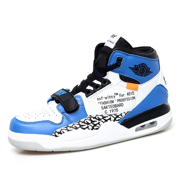 Jinbeile Men Basketball Shoes Jordan Retro Off White Super Star