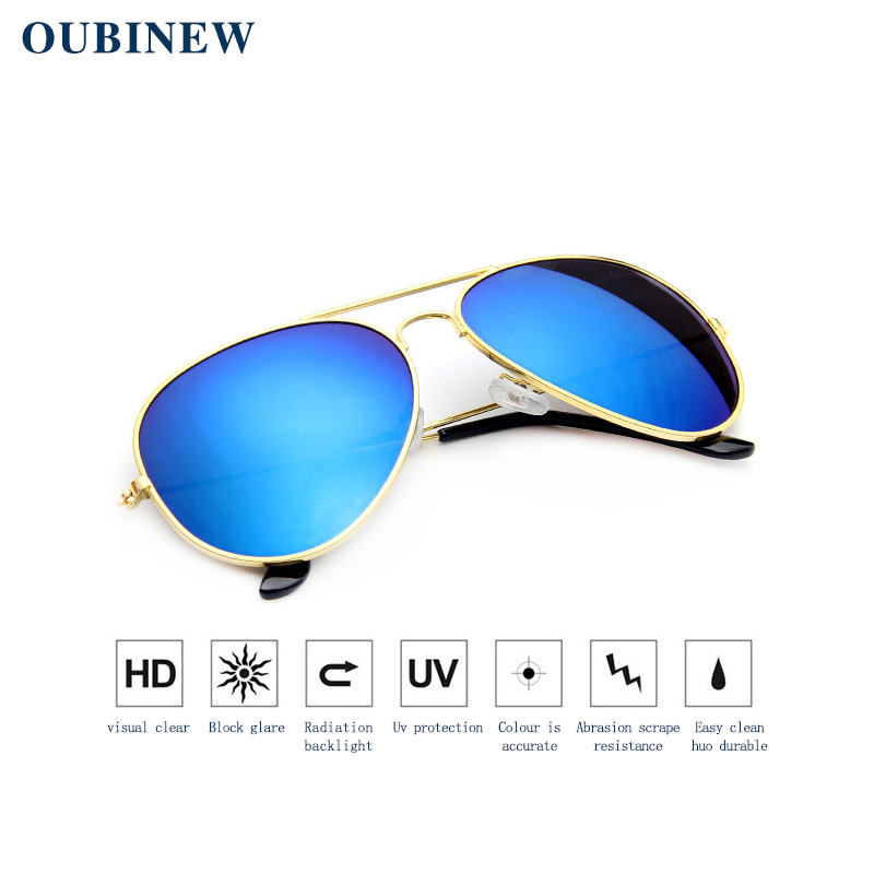 08913eed31b OUBINEW Brand Women s sunglasses Uv protection Dazzle sunglasses Men s  sunglasses The best driver s glasses Fashion 17 colors-in Sunglasses from  Women s ...