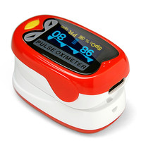 LED Kids Finger Pulse Oximeter Medical Pediatric Portable SpO2 Blood Oxygen Monitor for 1 12 Years Old with Rechargeable Battery