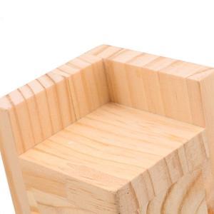 Image 4 - 4 stuks 7.5x7.5x7.3 cm L Vormige Semi Gesloten Lift Houten Bed Bureau Riser Lifter tafel Meubels Voeten Lift Opslag
