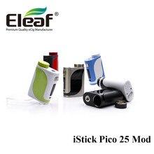 En stock caja Mod Eleaf Istick Pico 25 TC 85 W Sin 18650 Batería Vape Mod Fit Melo 3 Tanque de 0.91-pulgadas de Pantalla/Melo Mini atomizador