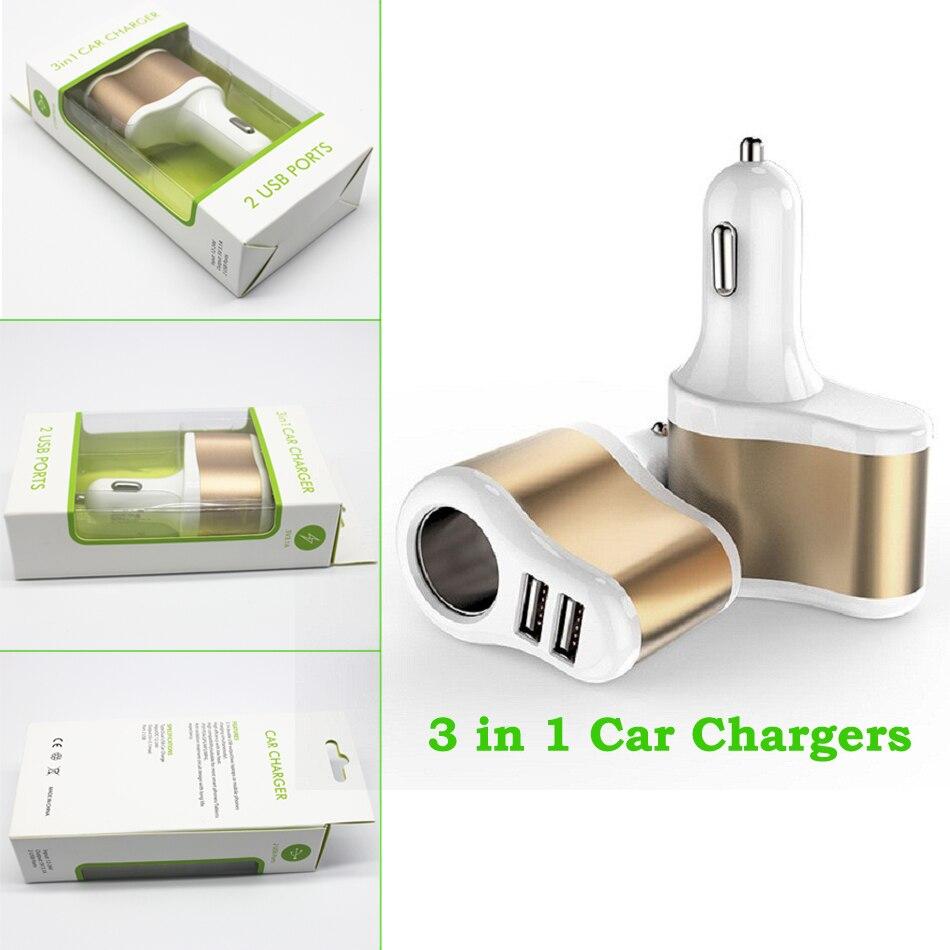Conkim Autolader 5 V 3.1A Dual Usb-poort Auto Sigaret Socket - Auto-elektronica - Foto 2