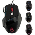 2017 New 5500 DPI 7 Buttons LED USB Optical Wired Gaming Mouse For Pro Gamer