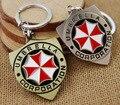 Free Shipping Movies Resident Evil umbrella keychain Accesorios Design Keyring 6CM