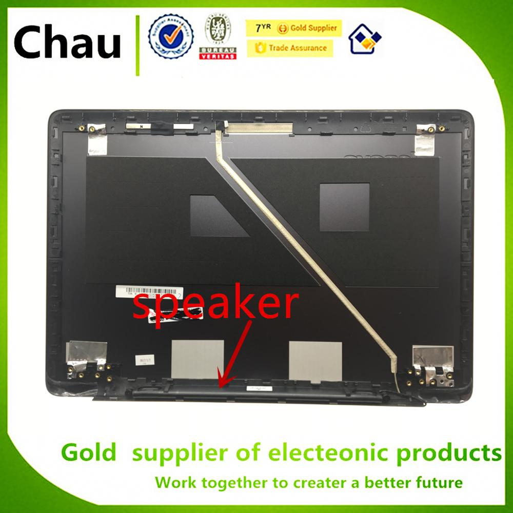 New For Lenovo For Ideapad U410 LCD Rear Lid Top Back Cover Metal Material w Speaker