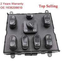 YAOPEI High Quality New Power Window Switch For Mercedes ML W163 ML320 1998 2002 1998 1999 A 1638206610 A1638206610