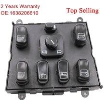 YAOPEI için yüksek kalite yeni güç pencere anahtarı Mercedes ML W163 ML320 1998 2002 1998 1999 A 1638206610 A1638206610