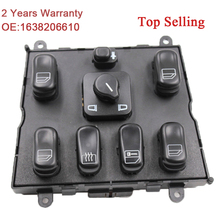 Yaobei novo interruptor de janela de alta qualidade, para mercedes ml w163 ml320 1998 2002 1998 1999 a 1638206610//2/30