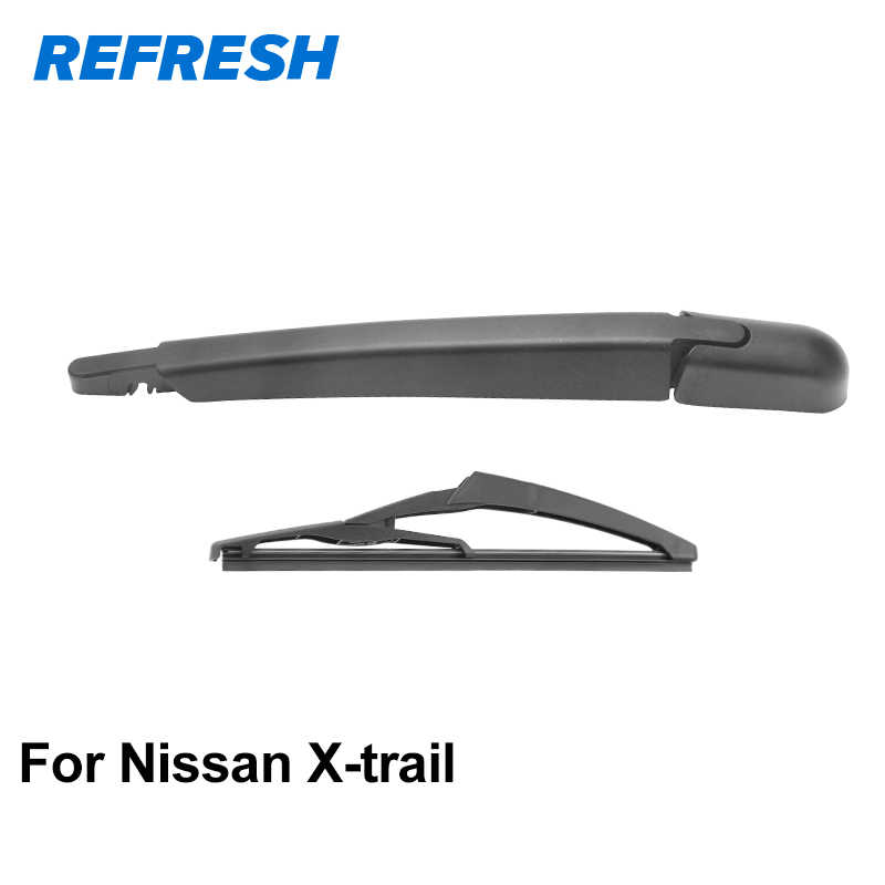 Front and Rear Blades LEAF Hatchback Nov 2010 Onwards Windscreen Wiper Blade Set 3 x Blades