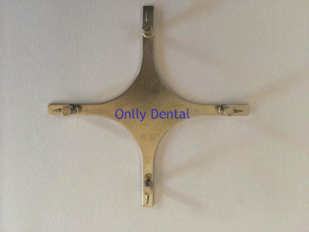 Dental cruciform orthodontic braces locator (3)