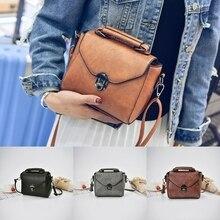 THINKTHENDO Для женщин кожа Сумки новые женские сумки на плечо сумка кошелек Crossbody Сумка для Для женщин одно плечо сумки мода 2018