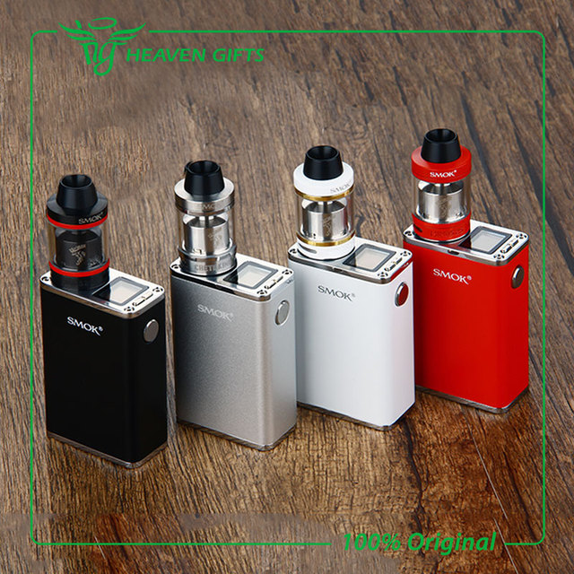 100% Оригинал Smok Micro Один 150 комплект с 1900 мАч R150 Mod Батареи и Минос Суб Бак 4 мл Электронных сигареты Вдыхание Пара