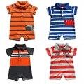 Originais da marca, recém nascido, novo 2016, roupas de verão, bebé romper, roupas para bebês, bebê geral, crianças conjuntos de pijama