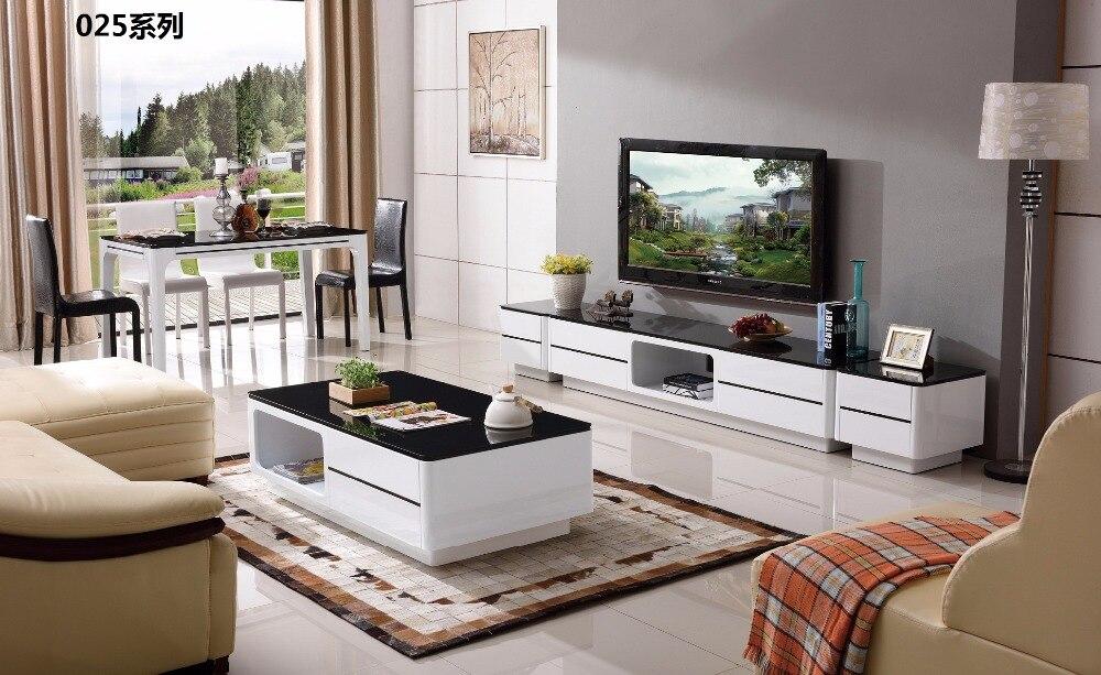 Cjtv025 Minimalis Ruang Tamu Modern Furniture Meja Makan