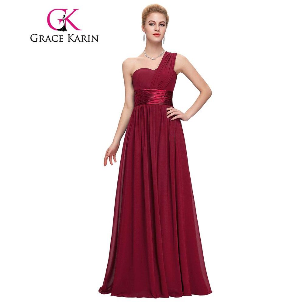Grace Karin Long Evening Dress Elegant Sweetheart Blue Red