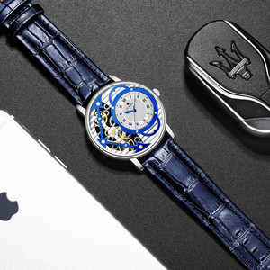 Image 4 - Relogio Masculino New REWARD Watch Men Fashion Skeleton Mens Watch Waterproof Mens Watches Top Brand Luxury Clock Reloj Hombre