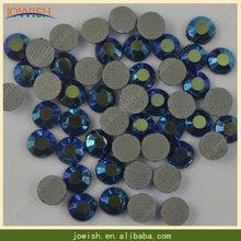 200Gross   bag SS16 Jet AB korean Glue On Rhinestones for Nails FlatBack Hotfix  Rhinestone b378644c4467