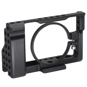 Image 1 - Rx100 Iii(M3) Iv(M4) V(M5) Camera Cage For Sony Rx100 Iii(M3) Iv(M4) V(M5) Dslr Camera Case Camera Rig Cold Shoe