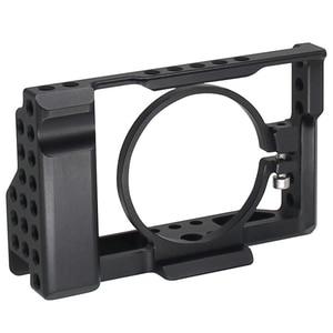 Image 1 - Rx100 Iii (M3) Iv (M4) V (M5) camera Kooi Voor Sony Rx100 Iii (M3) Iv (M4) V (M5) dslr Camera Case Camera Rig Koude Schoen