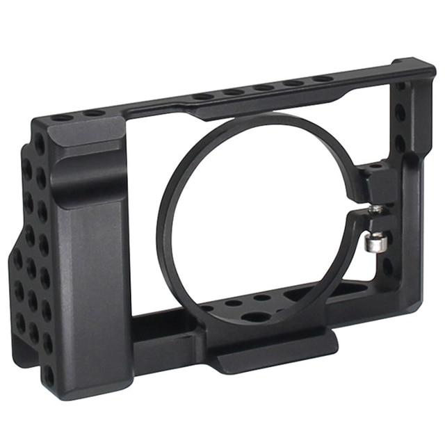 Rx100 Iii (M3) Iv (M4) V (M5) camera Kooi Voor Sony Rx100 Iii (M3) Iv (M4) V (M5) dslr Camera Case Camera Rig Koude Schoen