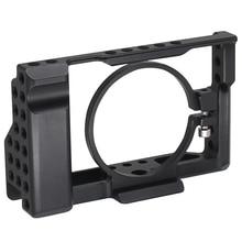 Rx100 Iii (M3) Iv (M4) V (M5) gabbia fotocamera Per Sony Rx100 Iii (M3) Iv (M4) V (M5) cassa Della Macchina Fotografica Dslr Rig Camera Scarpa Freddo