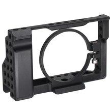 Rx100 Iii (M3) Iv (M4) V (M5) kamera Käfig Für Sony Rx100 Iii (M3) Iv (M4) V (M5) dslr Kamera Fall Kamera Rig Kalten Schuh