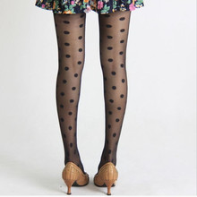 Cute Spotted Female Sexy Stockings Lady Cat Personality Pantyhose Tights Shiny Lolita Collant Fantaisie Femme