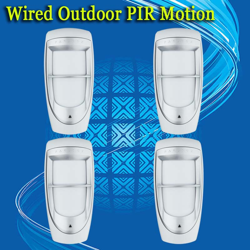 ФОТО free shipping! 4PCS manufacturer wholesale outdoor digital pir alarm motion detector QHDG85