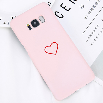 Galaxy S8 S8Plus Case Best Cartoon Couples Love Heart Cover 5
