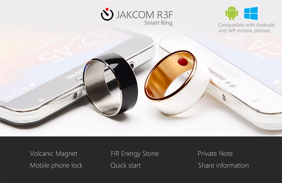 Jakcom R3F Smart Ring For High Speed NFC Electronics Phone Smart Accessories 3-proof App Enabled Wearable Technology Magic Ring 1