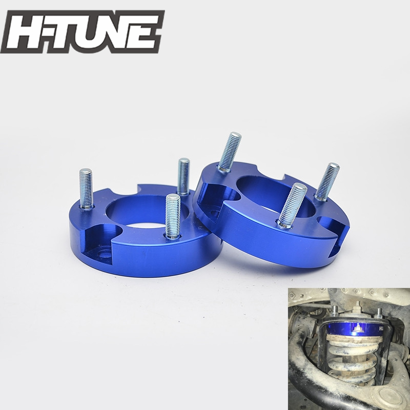 H TUNE Suspension lift Kits 1inch Front Coil Strut Shock Spacer for Vigo Hilux 4WD 05