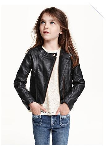 Kids Leather Jackets For Girls - Jacket