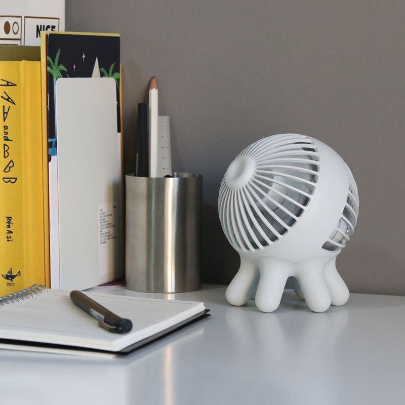 Plus longue durée de vie Portable Mini ventilateur de poche USB charge muet ventilateur de bureau refroidisseur d'air à trois vitesses vitesse du vent réglable