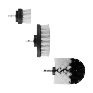 Image 3 - 3pcs Power Scrubber Brush Set For Bathroom Drill Scrubber Brush For Cleaning Cordless Drill Attachment Kit Power Scrub Brush