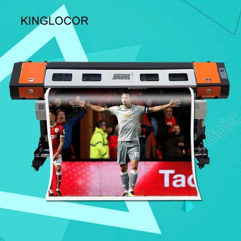 1440dpi 6 Colors Inkjet Large Format Printing Machine 1.6m Eco Solvent Printer wide format indoor inkjet printer 750