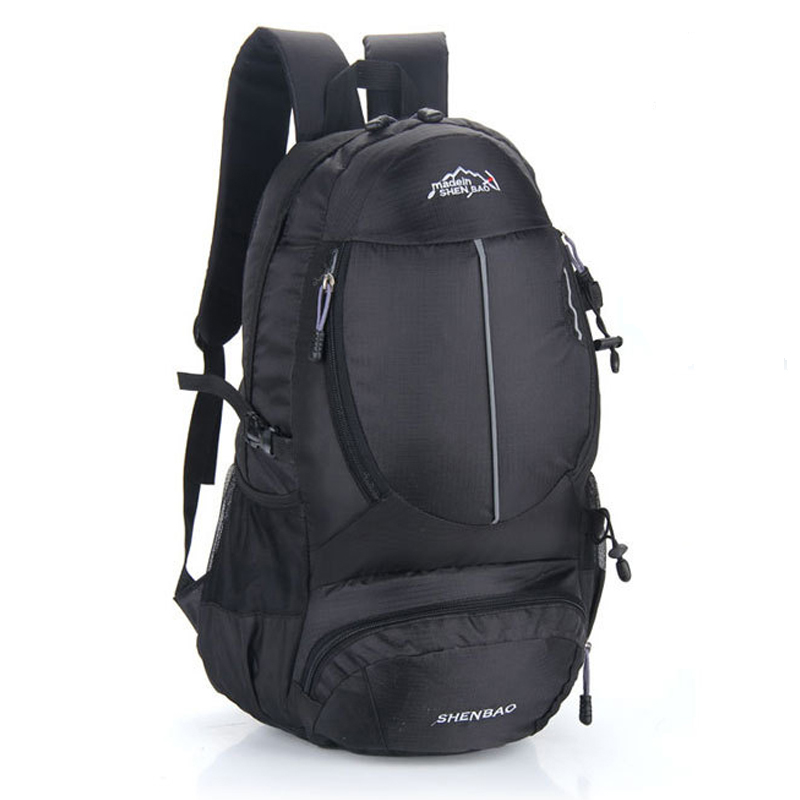 Men and women Climbing Bags 35l waterproof nylon backpack hiking backpack sports bag