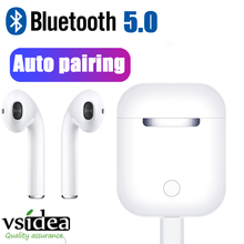 I11 TWS Wireless Bluetooth 5.0 Earphones Auto pairing In-Ear Music Earbuds Stereo for Iphone X 6 7 8 Samsung Xiaomi CHARGE Box bluetooth earphones earbuds wireless headset tws double twins stereo music headphone for iphone 6 7 8 x samsung android xiaomi