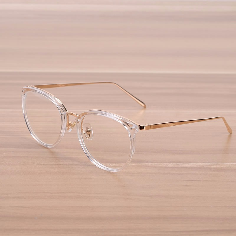 NOSSA Fashion Transparent Glasses Kvinder & Mænds Optiske Briller Ramme Mand Kvinde Myopi Prescription Spectacle Frame Clear Lens