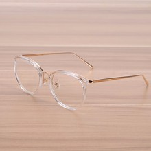 NOSSA Fashion Transparent Glasses Women & Men's Optical Glasses Frame Male Female Myopia Prescription Spectacle Frame Clear Lens