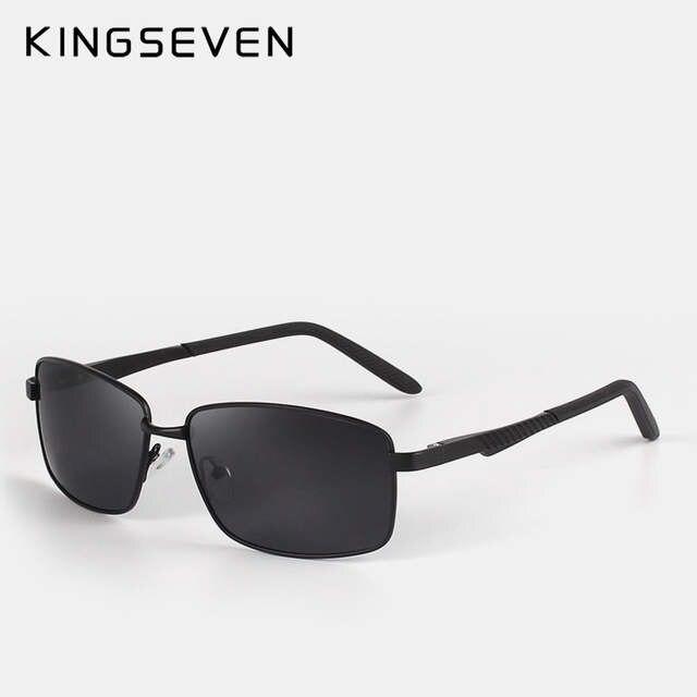 ad7a481150a4d placeholder Neutro KINGSEVE Marca retangular óculos de sol masculino e  feminino óculos de sol retro óculos de