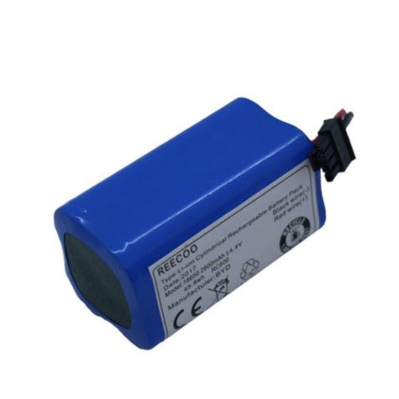 Batterie pour Ecovacs Miroir CEN540 CEN546 CEN550 CEN640 CEN646 CR120 CR130 Dibea X500 X580 KK8 V780 V7 V7S Vide Robot cleaner
