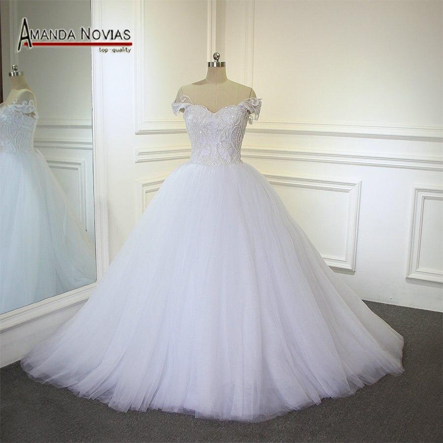 Simple But Elegant Wedding Dress: Aliexpress.com : Buy Off The Shoulder Straps Wedding Dress