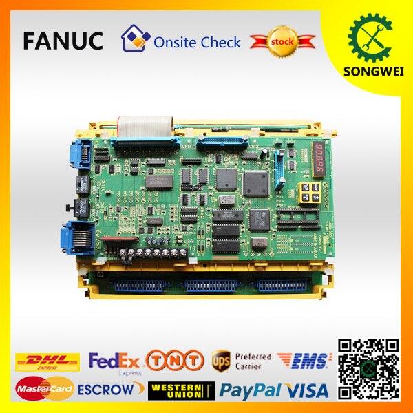 FANUC A06B-6064-H302 AC spindle amplifier  driver er CNC ControlFANUC A06B-6064-H302 AC spindle amplifier  driver er CNC Control