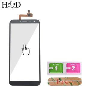 Image 2 - Vidro da tela de toque para oukitel c3 c4 c5 c8 c11 pro c12 painel digitador vidro sensor vidro do telefone móvel adesivo