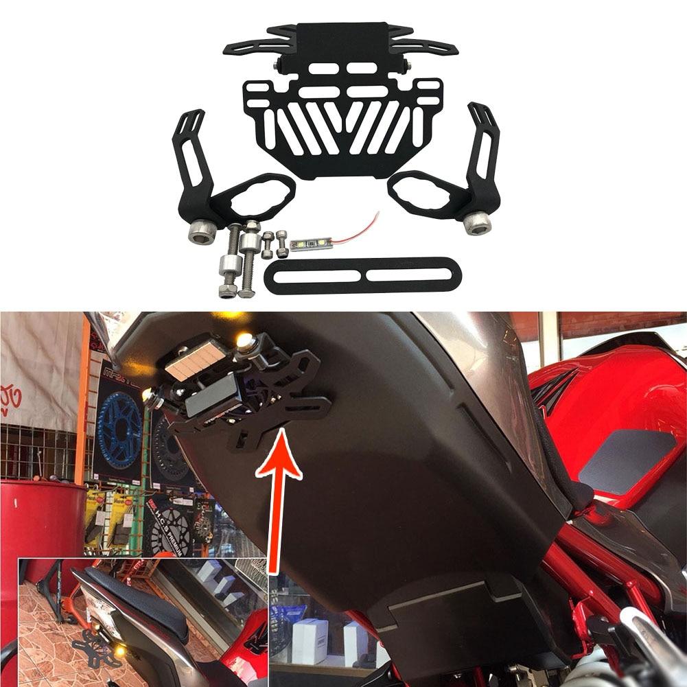 Motorcycle License Plate Number Holder Mount Bracket Stand Support For Honda MSX