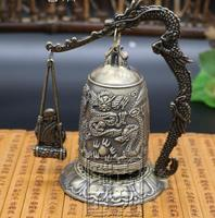 The exquisite Old Chinese monk bell Statue / Sculpture, best collection & adornment, free shipping