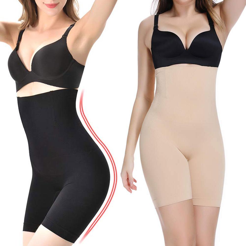 High Waist Trainer Shaper Tummy Control Panties Hip Butt Lifter Body Shaper Slimming Underwear Modeling Strap Briefs(China)